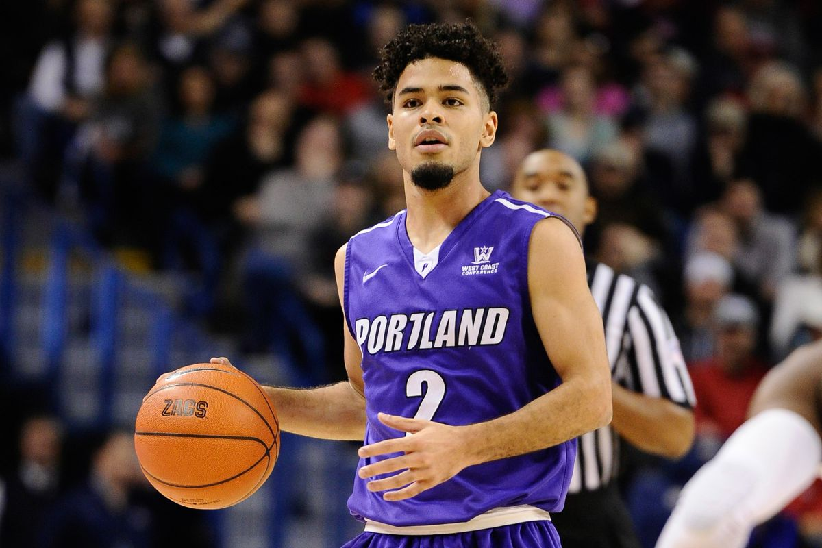 Portland point guard Alec Wintering earned a second straight team of the week honor.