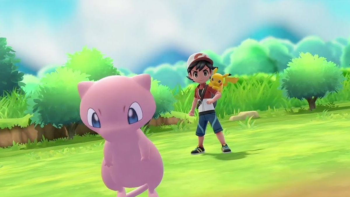 Pokemon Let's Go - Mew
