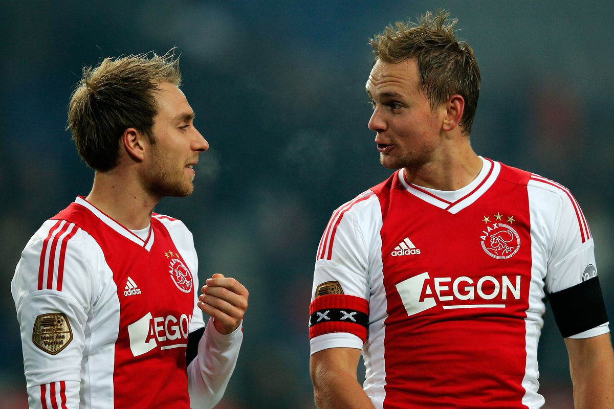 Young Ajax players, too old for the future Cup but still!