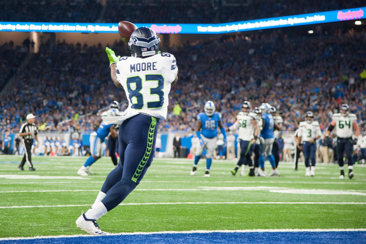 hot sale online b3cab cd68f The Seahawks still need David Moore, even if he lacks DK ...