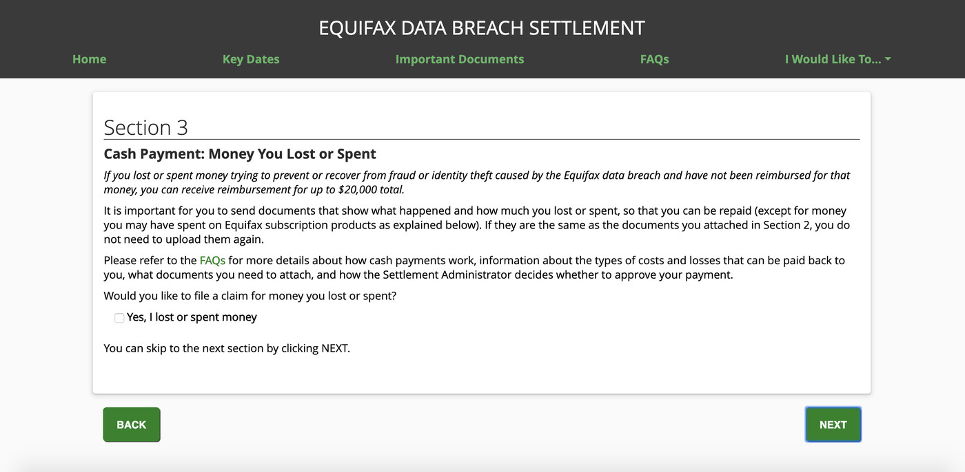 Equifax owes you a lot more, but here's how to get $125 from