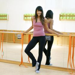 """<strong><a href=""""http://la.racked.com/archives/2014/08/19/hottest_trainer_contestant_14_jai_franklin.php"""">Jai Franklin, The Dailey Method</a></strong>: The Westside-based barre instructor is all about rising and shining early. """"My favorite class to teach"""