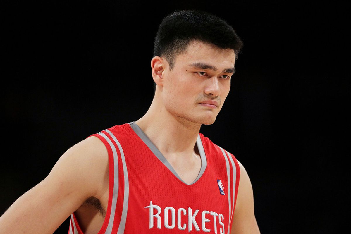Yao Ming does not belong in the Hall of Fame as a player.