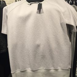 Cut and sew shirt, size medium, $49 (from $230)
