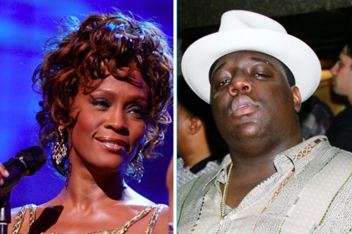 Notorious B.I.G. and Whitney Houston