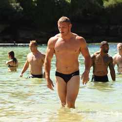 Rugby player Thomas Burgess