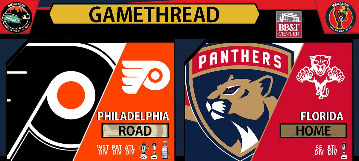 gameday caterwaul thread florida panthers vs philadelphia flyers