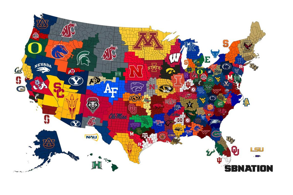 College Football Rankings: Top 25 Coaches Poll Updated - A Sea Of Blue