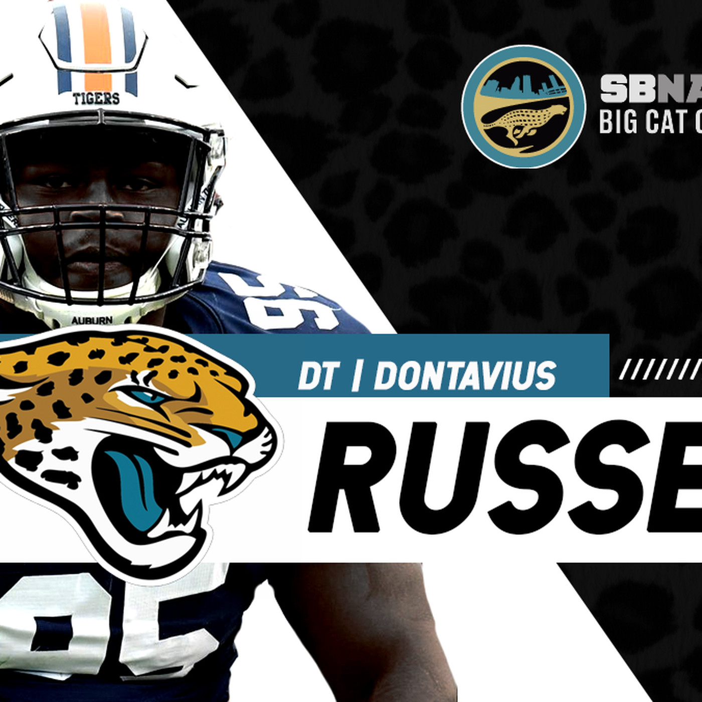 sports shoes c012d 7ed9e What are the Jaguars getting in Dontavius Russell? - Big Cat ...