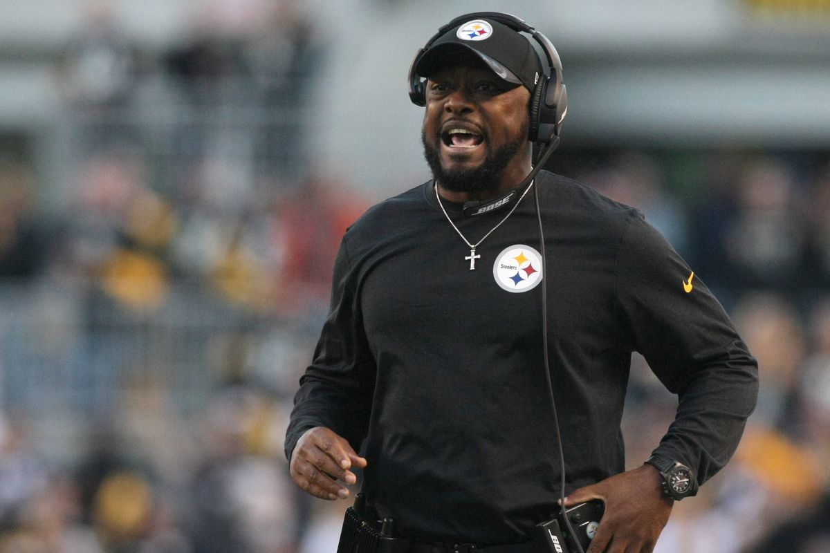 sneakers for cheap ca8f1 05af4 Is Mike Tomlin a major part of the Pittsburgh Steelers ...