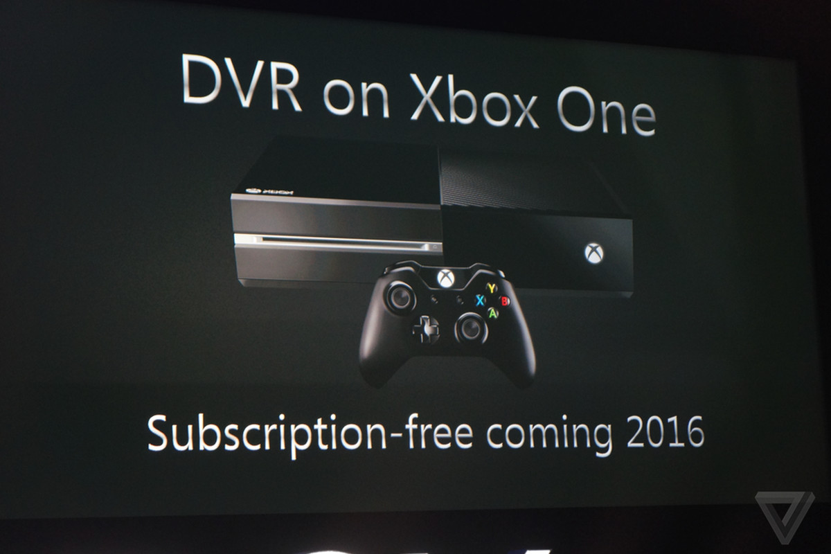 Microsoft isn't adding a TV DVR feature to the Xbox One