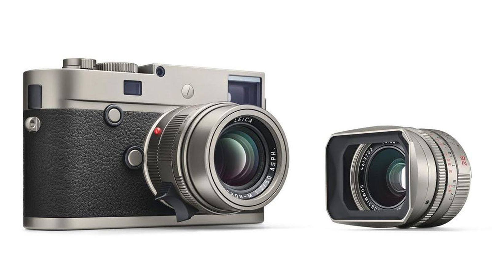 leica 39 s limited edition m p titanium camera looks cool will probably cost as much as a car. Black Bedroom Furniture Sets. Home Design Ideas