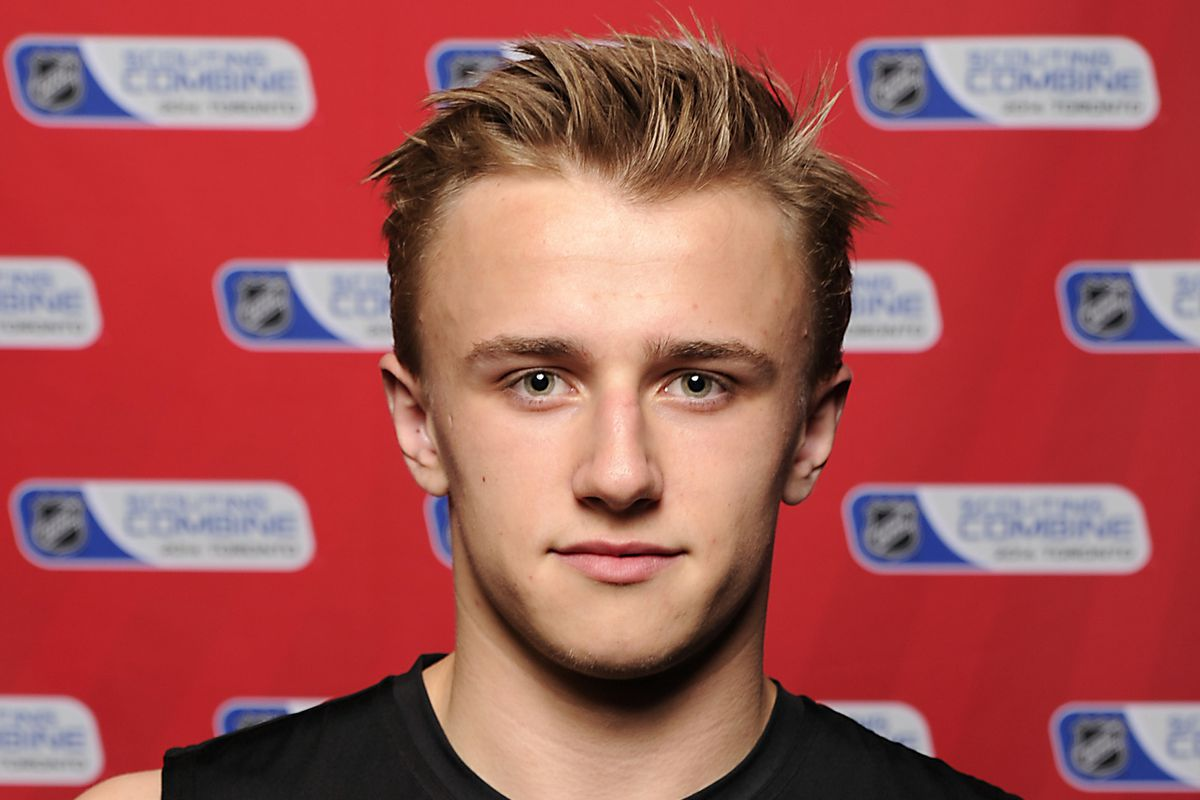 sale retailer ba494 ec3b4 NHL Draft 2014: Washington Capitals select Jakub Vrana with ...
