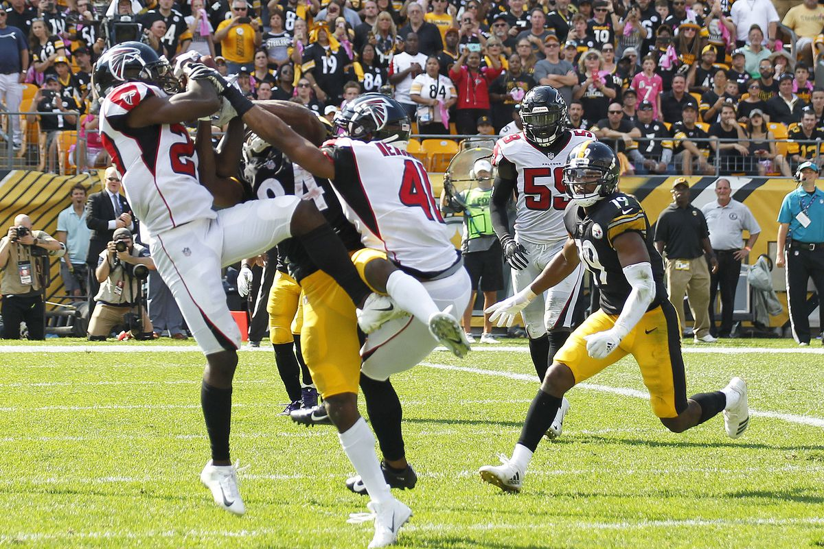Falcons 17 Steelers 41 Final Score Night Falls On The
