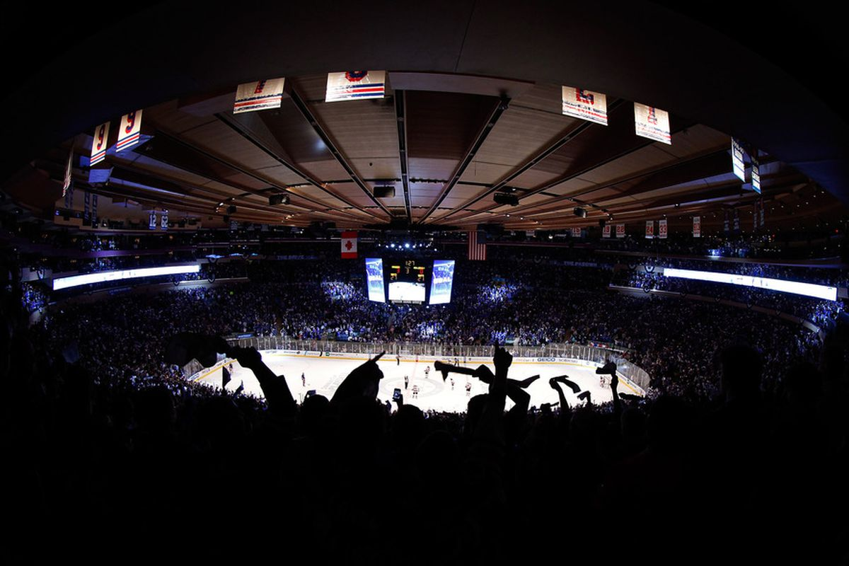 Let's hope the Garden Faithful get loud and rally the boys. (Photo by Paul Bereswill/Getty Images)