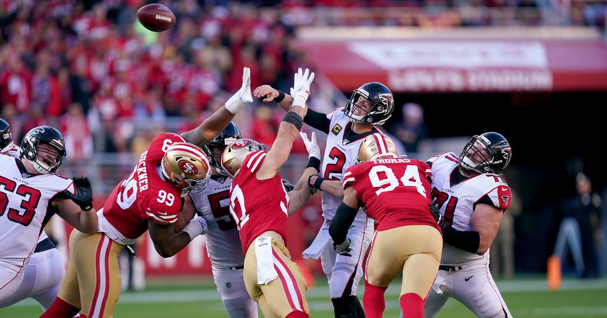Falcons vs. 49ers: 3 Falcons up, 3 Falcons down after impressive win  - The Falcoholic