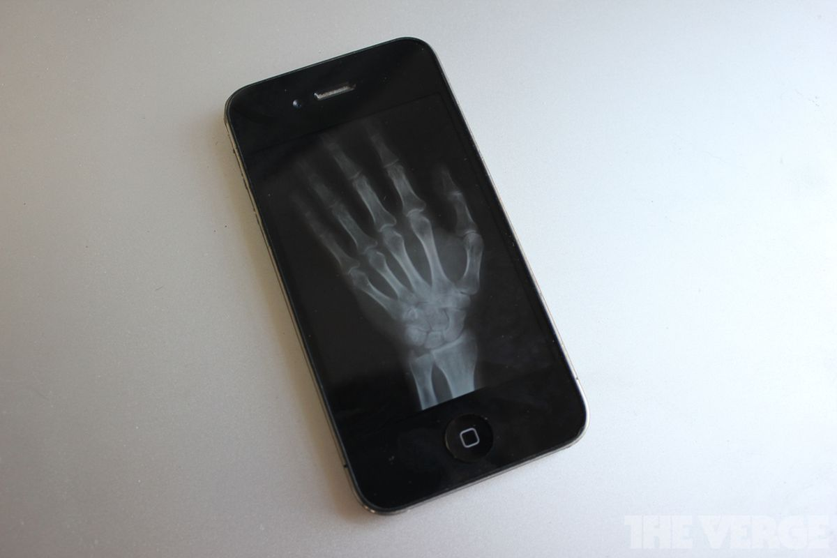 Cellphone X-Ray