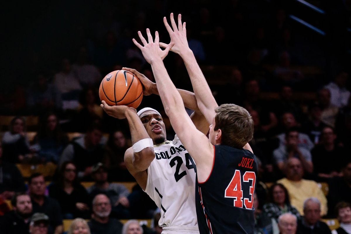NCAA Basketball: Utah at Colorado