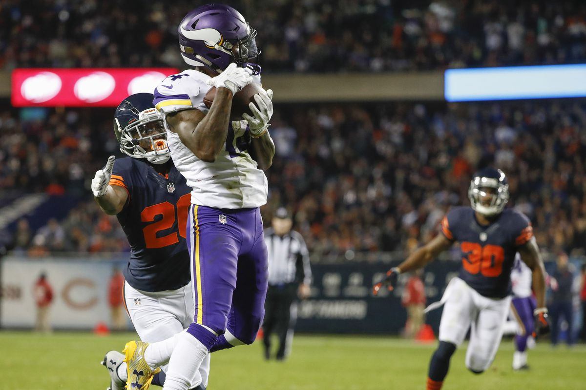 Maryland in the NFL Week 9 Stefon Diggs sets a Vikings record