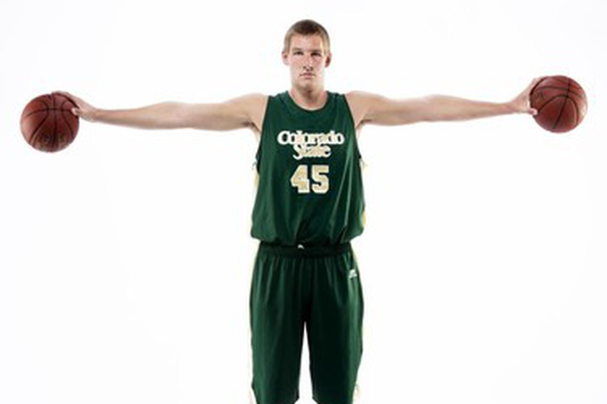 Colton Iverson looks to be drafted in 2013