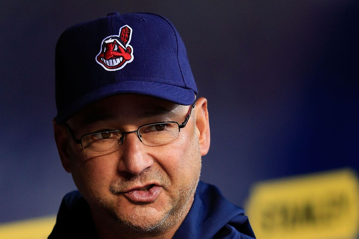 Terry Francona, nonplussed.