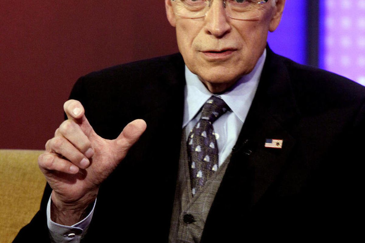 Dick cheney wants you to know he doesn't care what you think