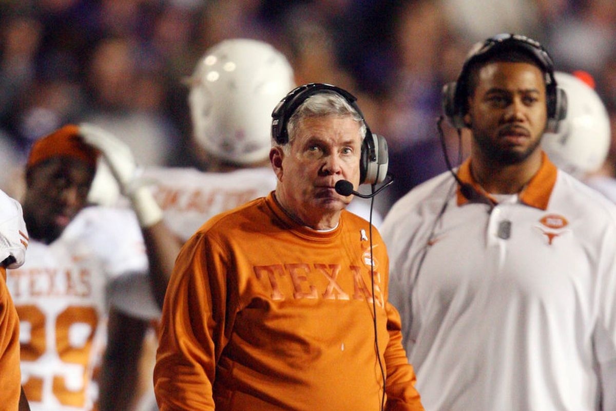 Texas Coach Mack Brown has had to send a pair of his players home early. One could figure into the outcome of the Alamo Bowl.
