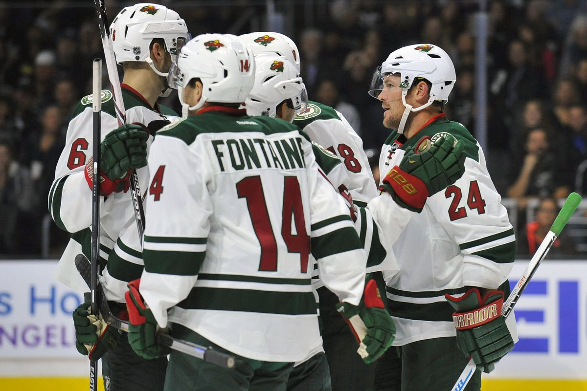 The Wild plan to move Fontaine around. Lets hope it works.