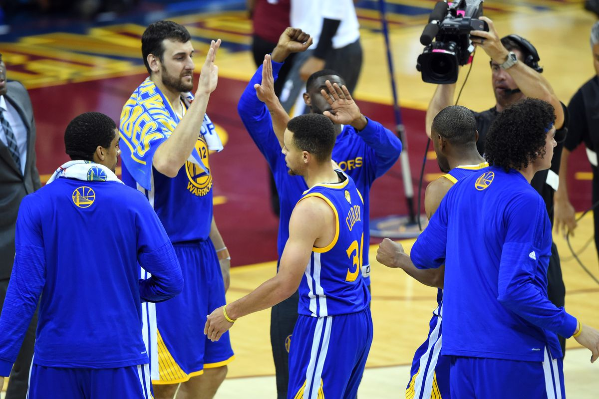 The Dubs congratulate each other on earning tacos for all of America.