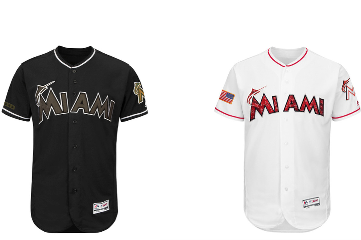 online retailer 35ff7 b7615 Marlins 2018 Holiday and Special Event Gear Unveiled by MLB ...