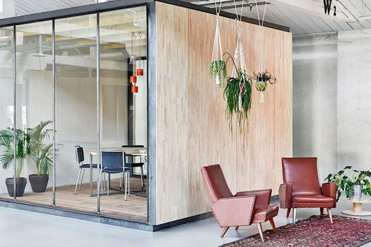 warehouse office design. Groovy New Warehouse Office In Amsterdam Is Full Of (What Else?) Reclaimed Materials Design N