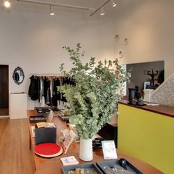 """Your next stop is just a few blocks away to <a href=""""http://edenandeden.com"""">Eden & Eden</a> for their unparalleled selection of vintage clothing, heavy on the YSL. Plus you'll find home goods including bus-roll wall art, Navajo cushions, and kitchen ware"""