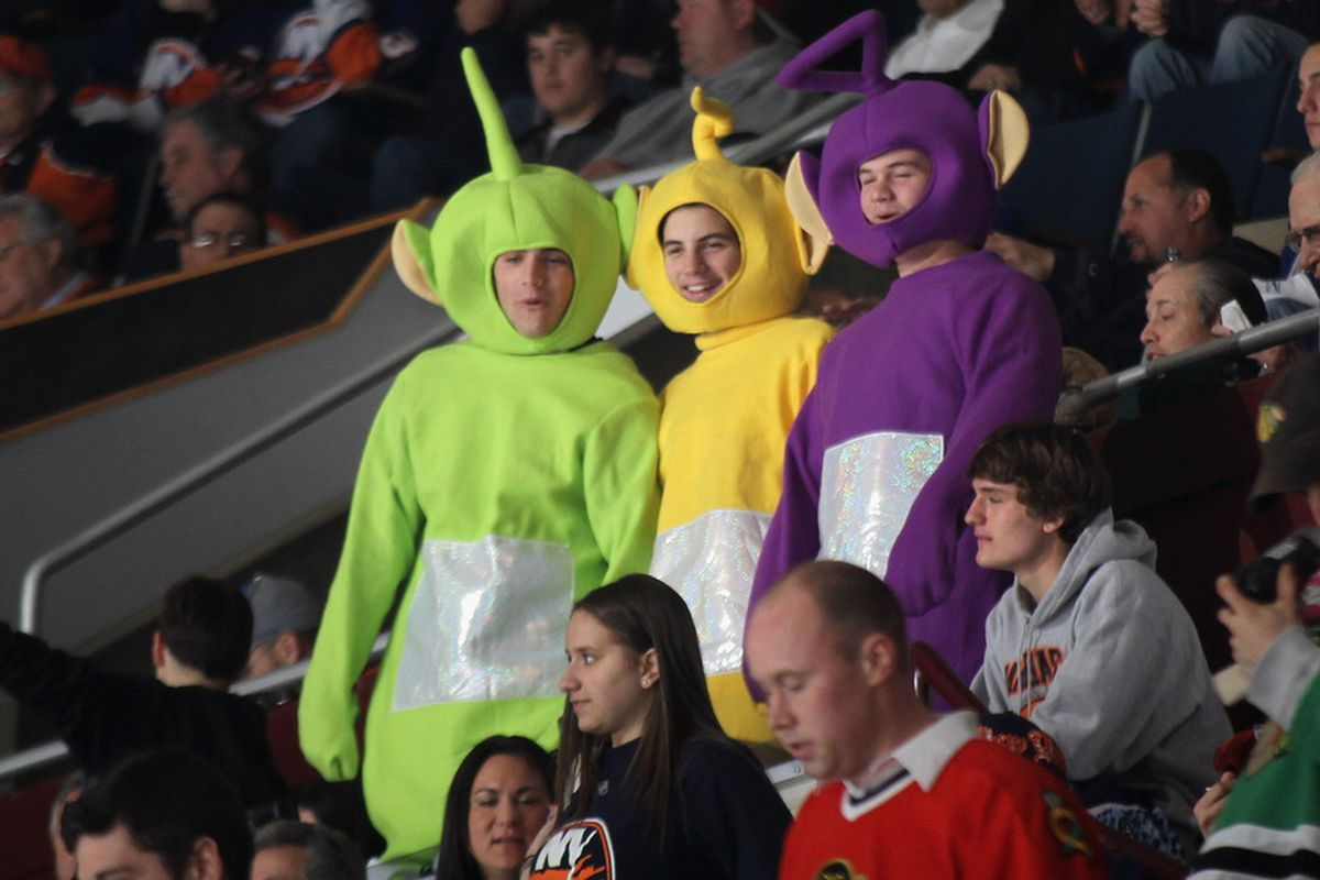 Most intimidating fans in the NHL? Not exactly.