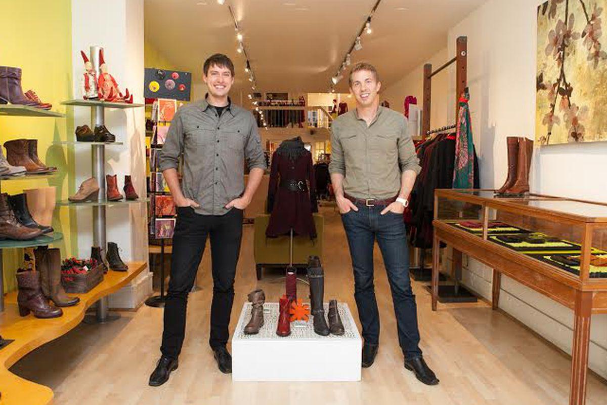 Storefront founders Tristan Pollock and Erik Eliason