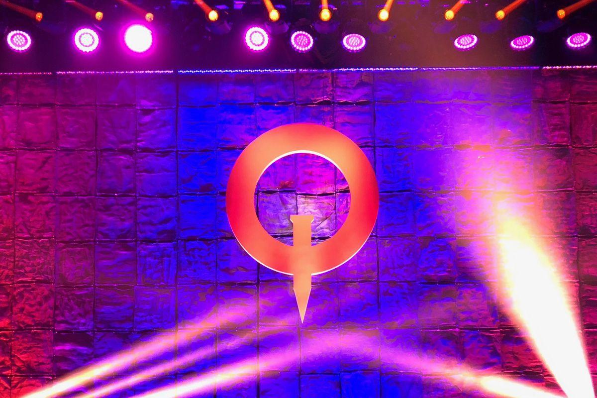 QuakeCon 2018 stage