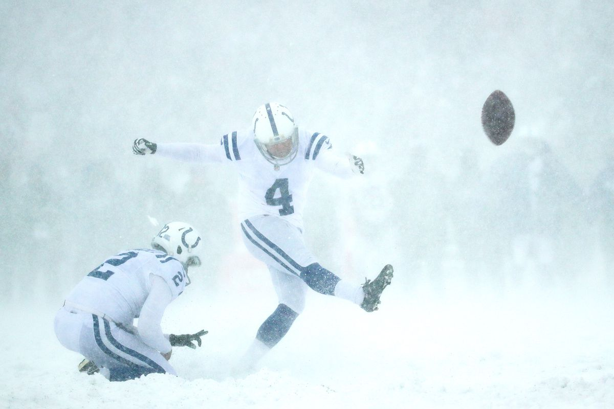 Colts Bills Blizzard Bowl Of 2017 Responsible For Nfl Rule Change Stampede Blue