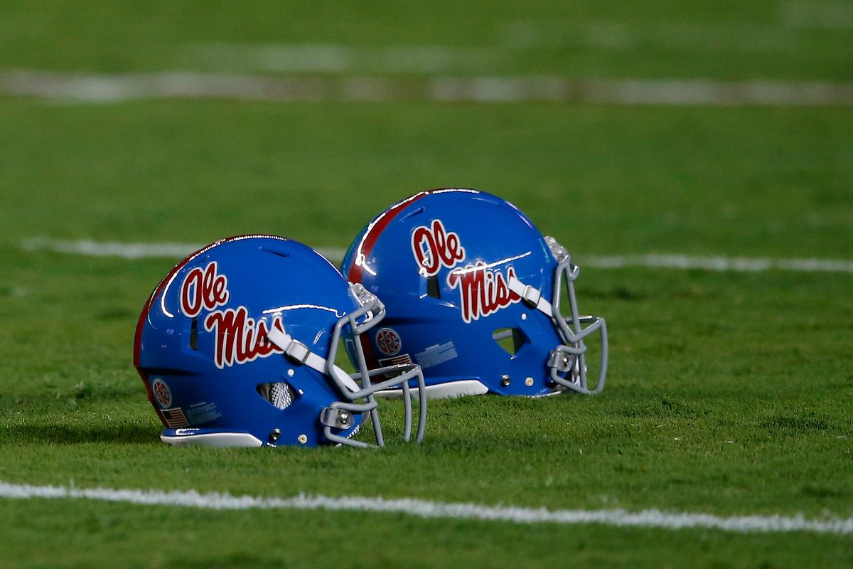 huge selection of 84df7 a1691 Ole Miss football should bring back helmet stickers. And we ...