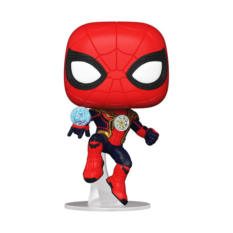 A Funko Pop of Spider-Man