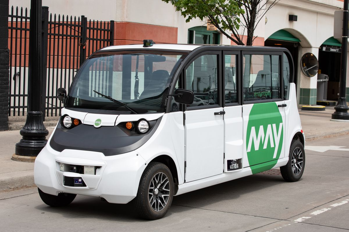 Autonomous shuttles seek to disrupt downtown transit - Curbed