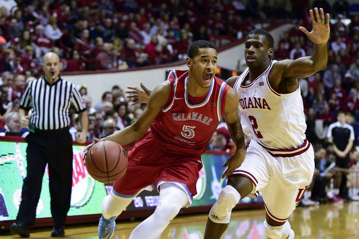 NCAA Basketball: Delaware State at Indiana