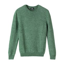 Crewneck pullover in thick cotton was $295 now $148