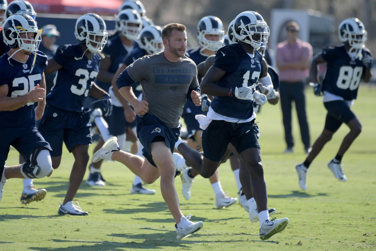 The 2019 La Rams 53 Man Roster Turf Show Times