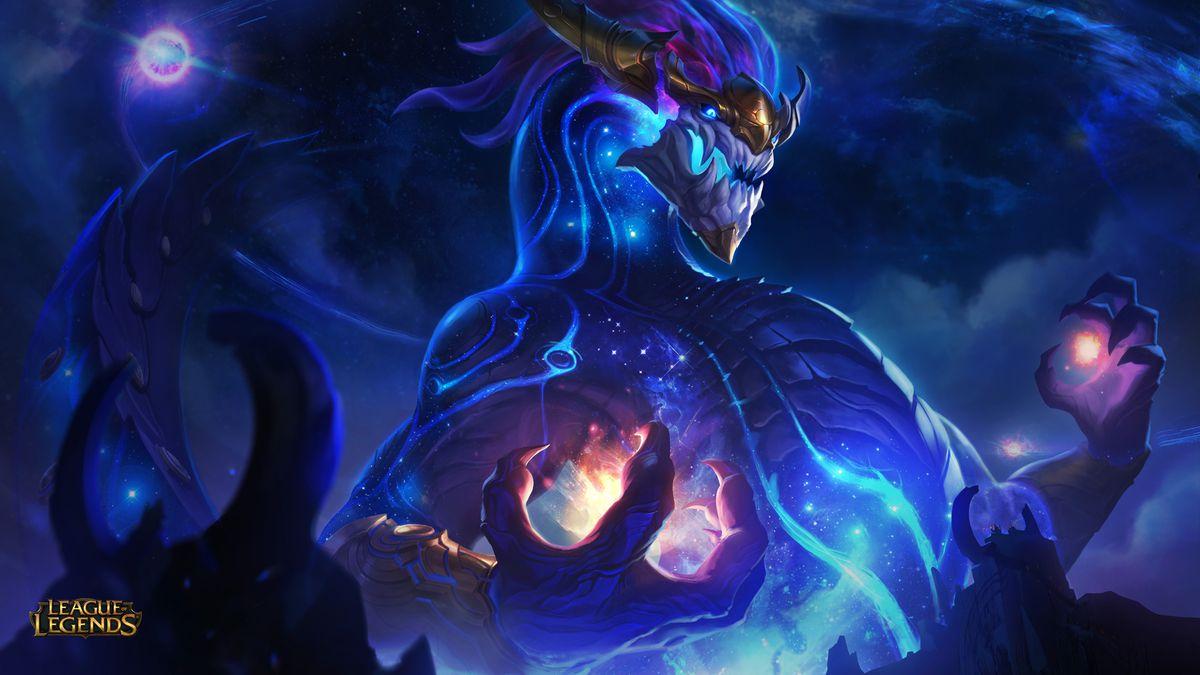 League of Legends aurelion sol art