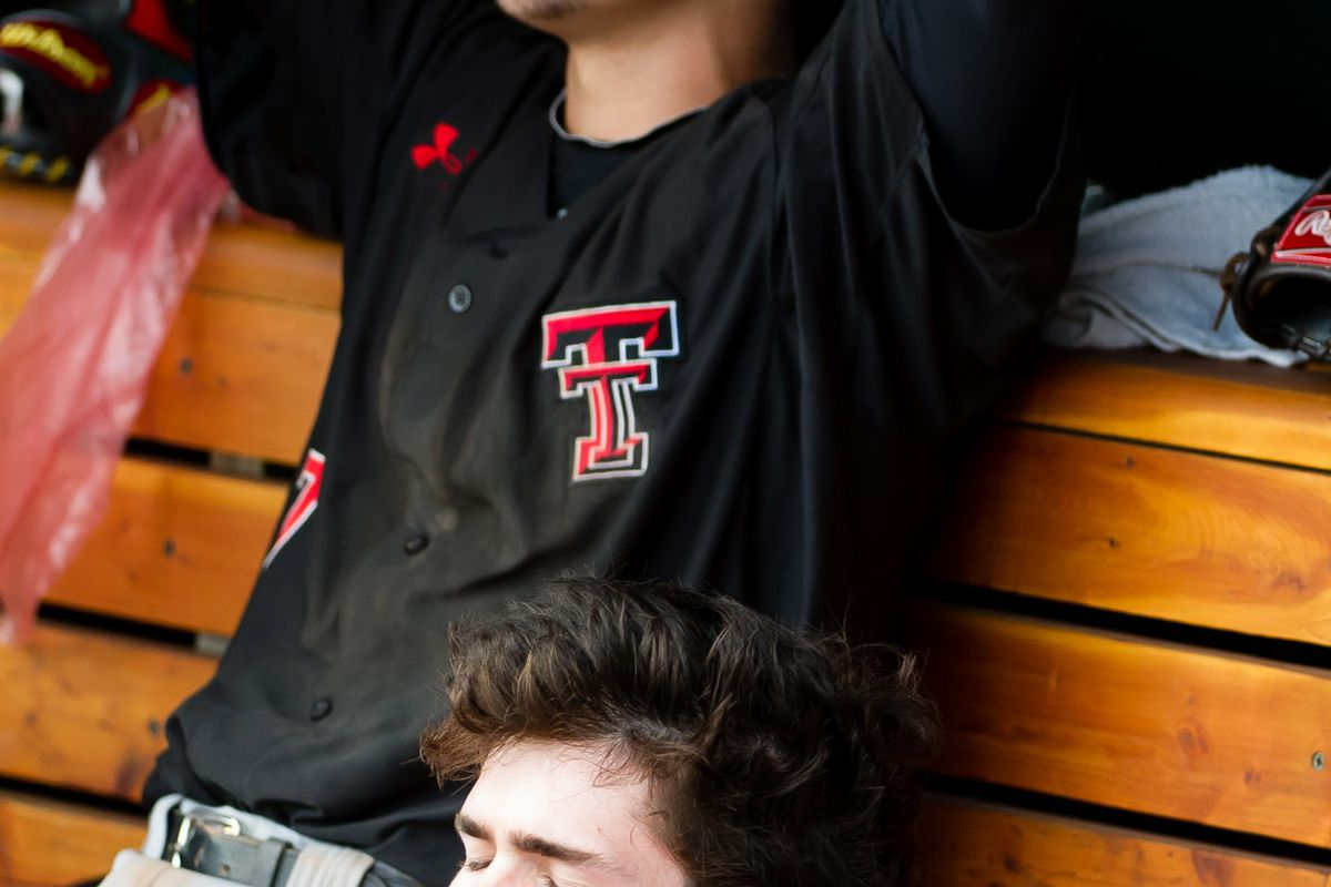 NCAA Baseball: College World Series-Mississippi vs Texas Tech