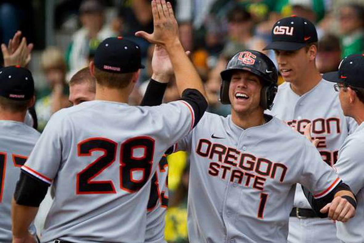 Oregon St. celebrated winning the Civil War series last weekend, and the Beavers hope to sew up the Pac-12 Championship with another win tonight.