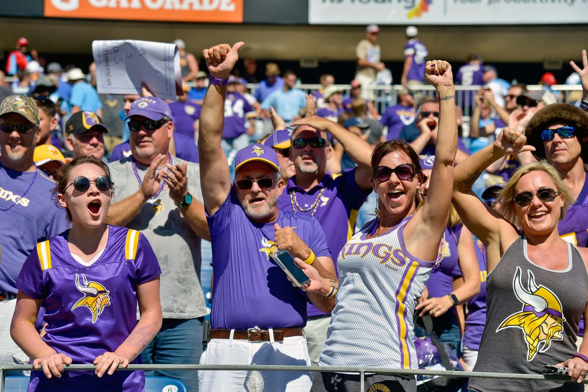 fd54d5403fa856 NFL: Minnesota Vikings fans compared to all 31 other NFL teams.