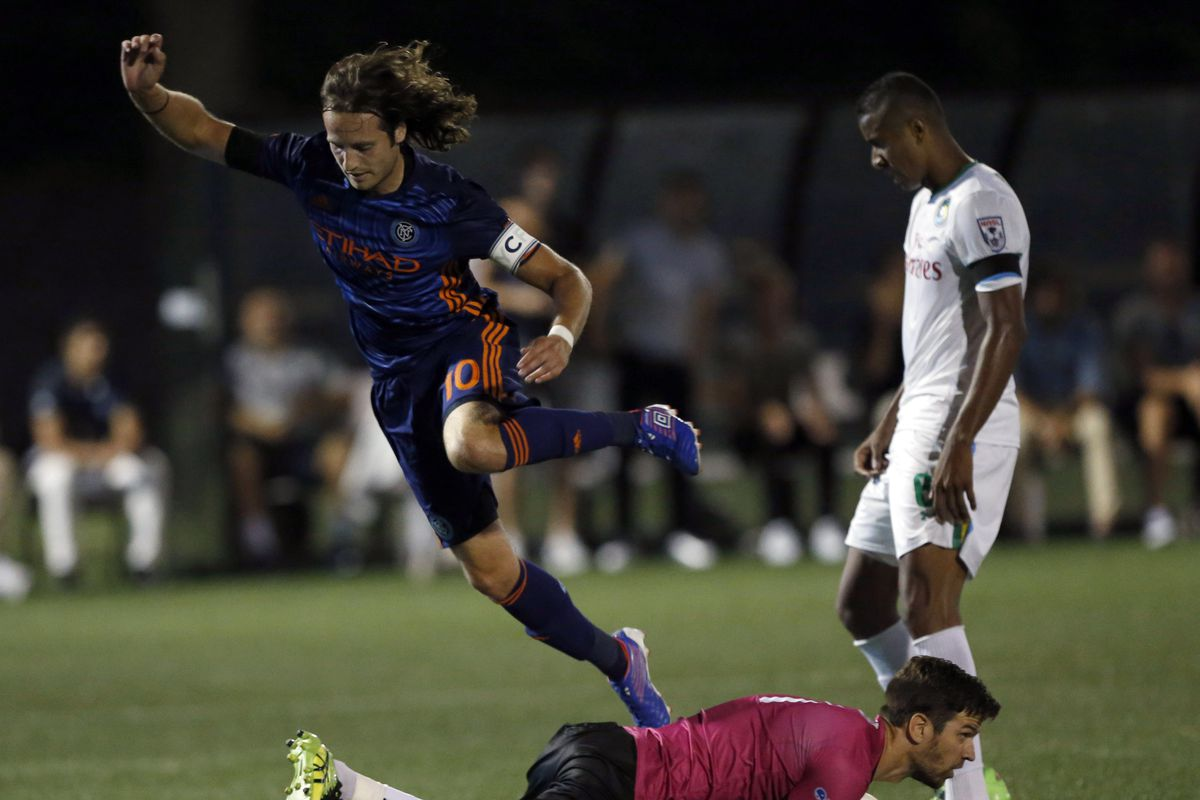 MLS: U.S. Open Cup-New York Cosmos at New York City FC