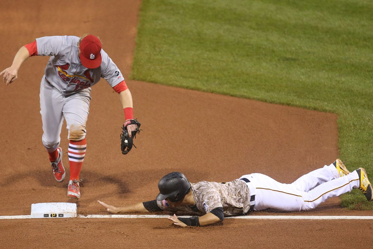 This picture is apt for NL Central opponents to Cards - so close, yet so far