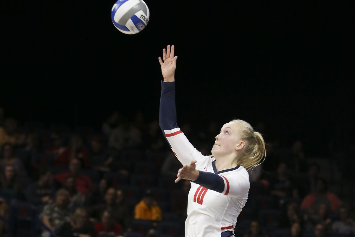 COLLEGE VOLLEYBALL: OCT 25 Oregon State at Arizona