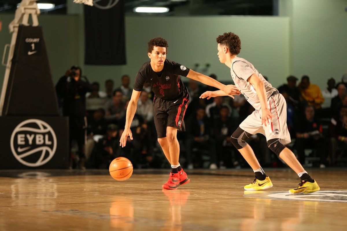 Cole Anthony is already playing two years up on the Nike EYBL, and thriving.